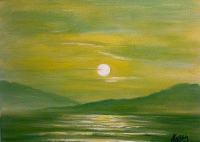 Sunset at Fog Lake